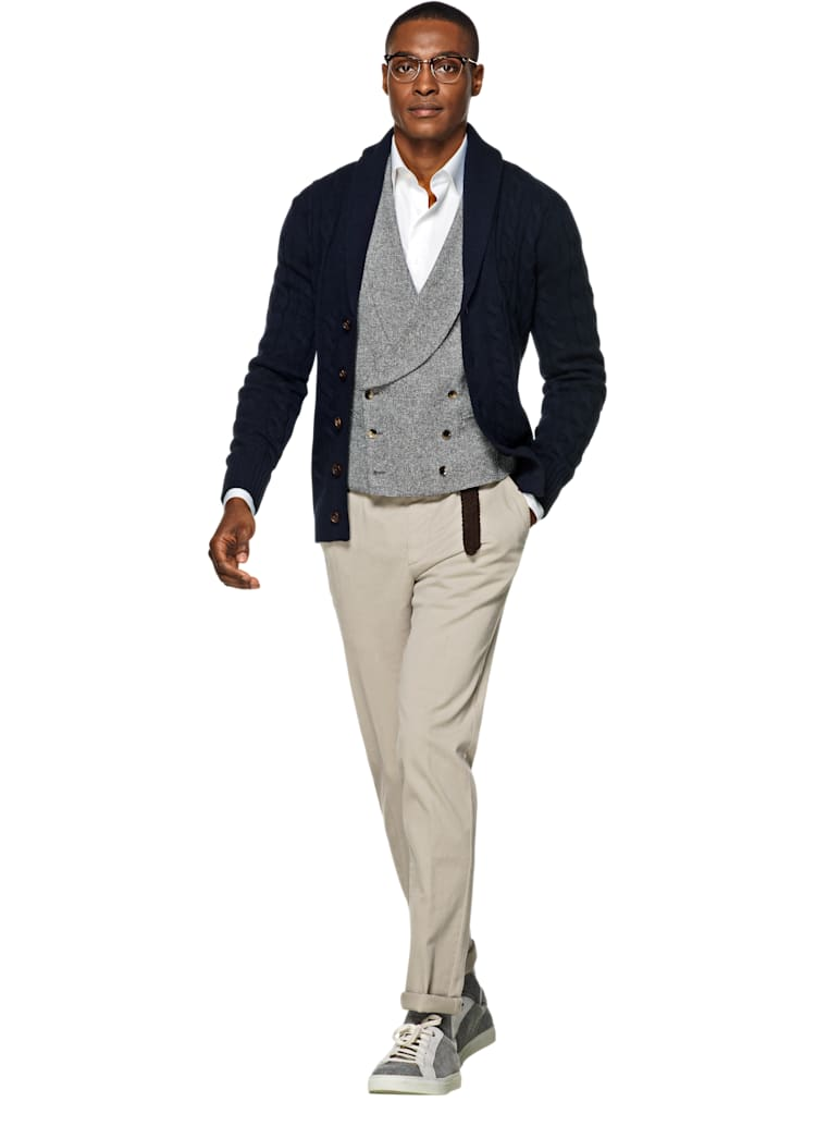 SuitSupply Sand Washed Chino