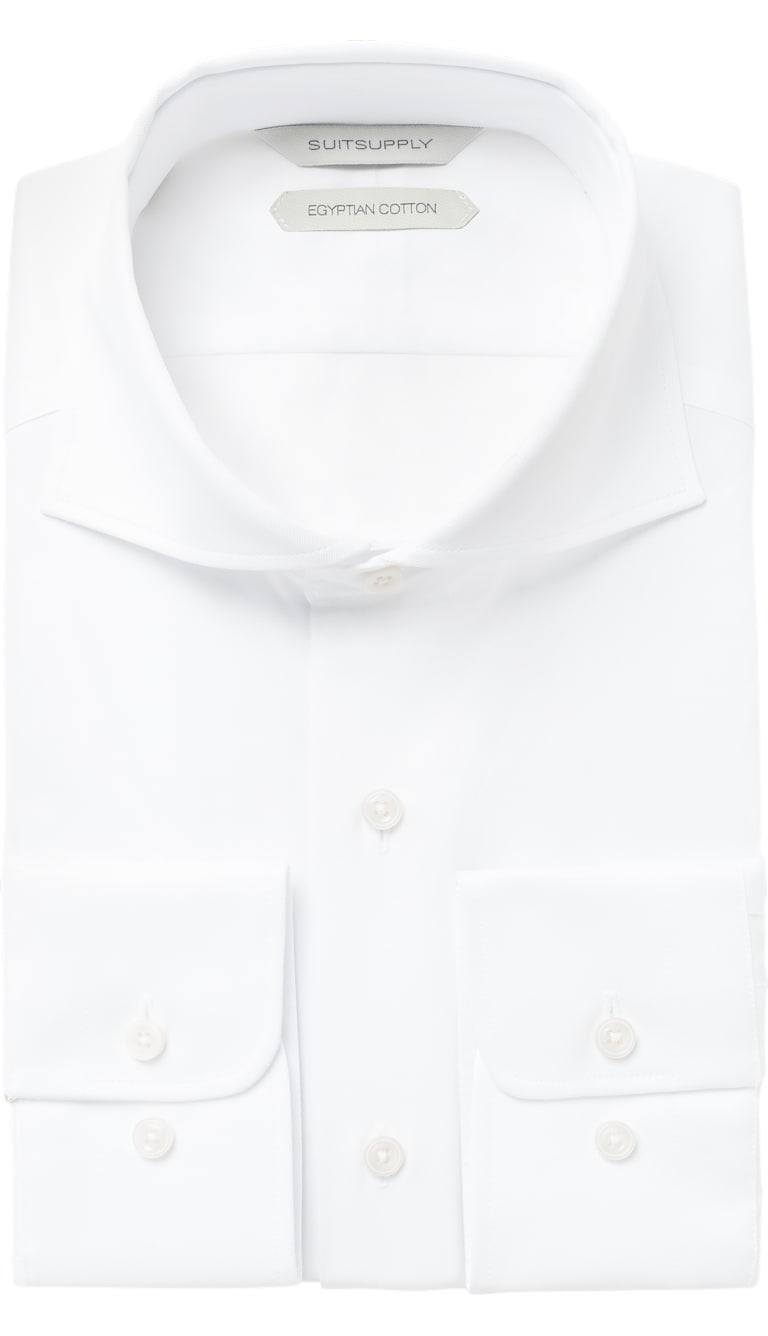 White Shirt Single Cuff H9094u Suitsupply Online Store