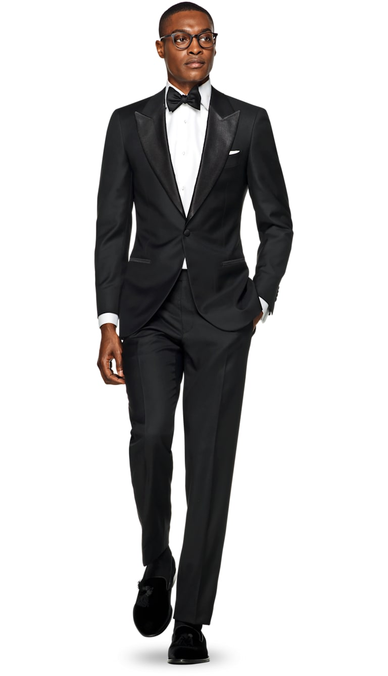 Suit Black Plain Tuxedo P1199i S Suitsupply Online Store