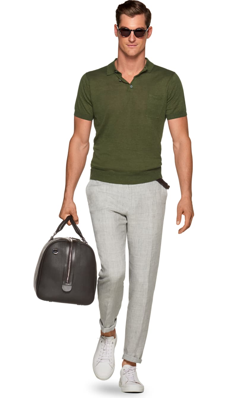 Green Polo by Suitsupply