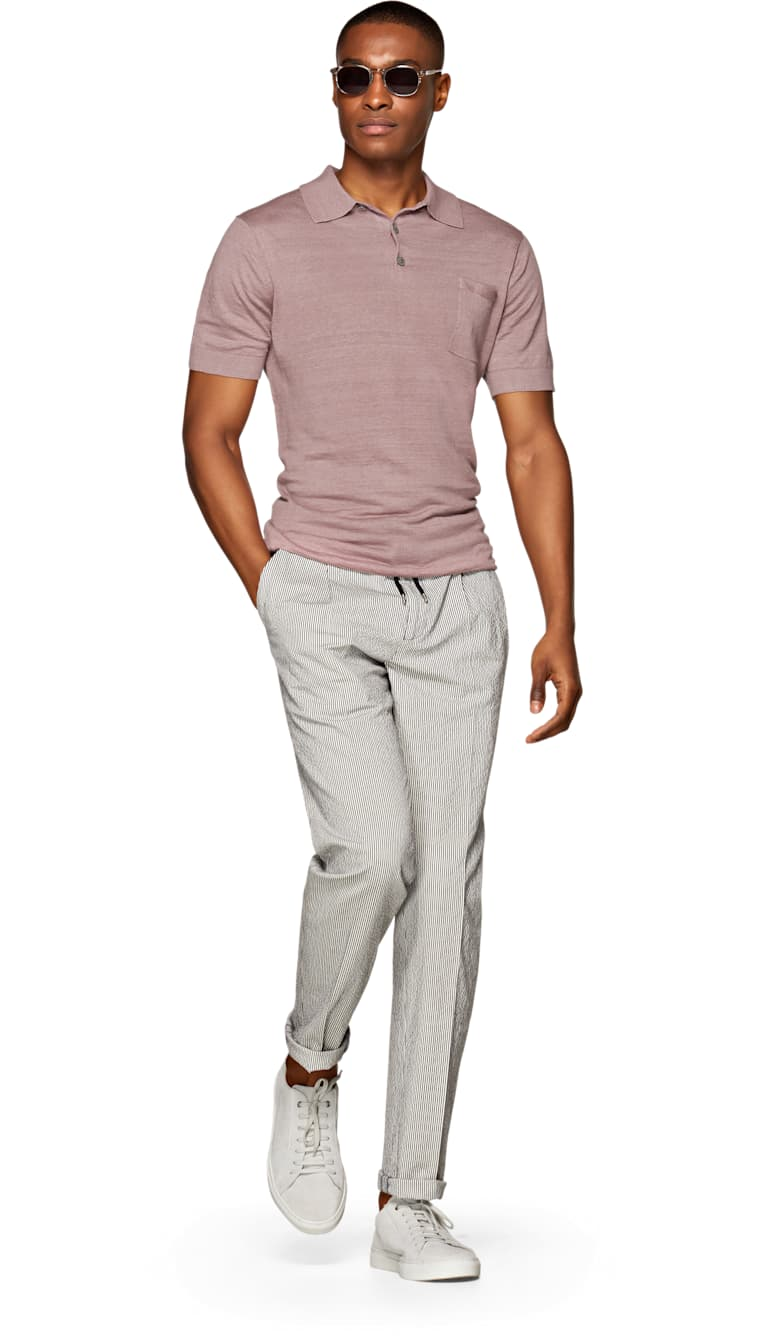 Pink Polo by Suitsupply