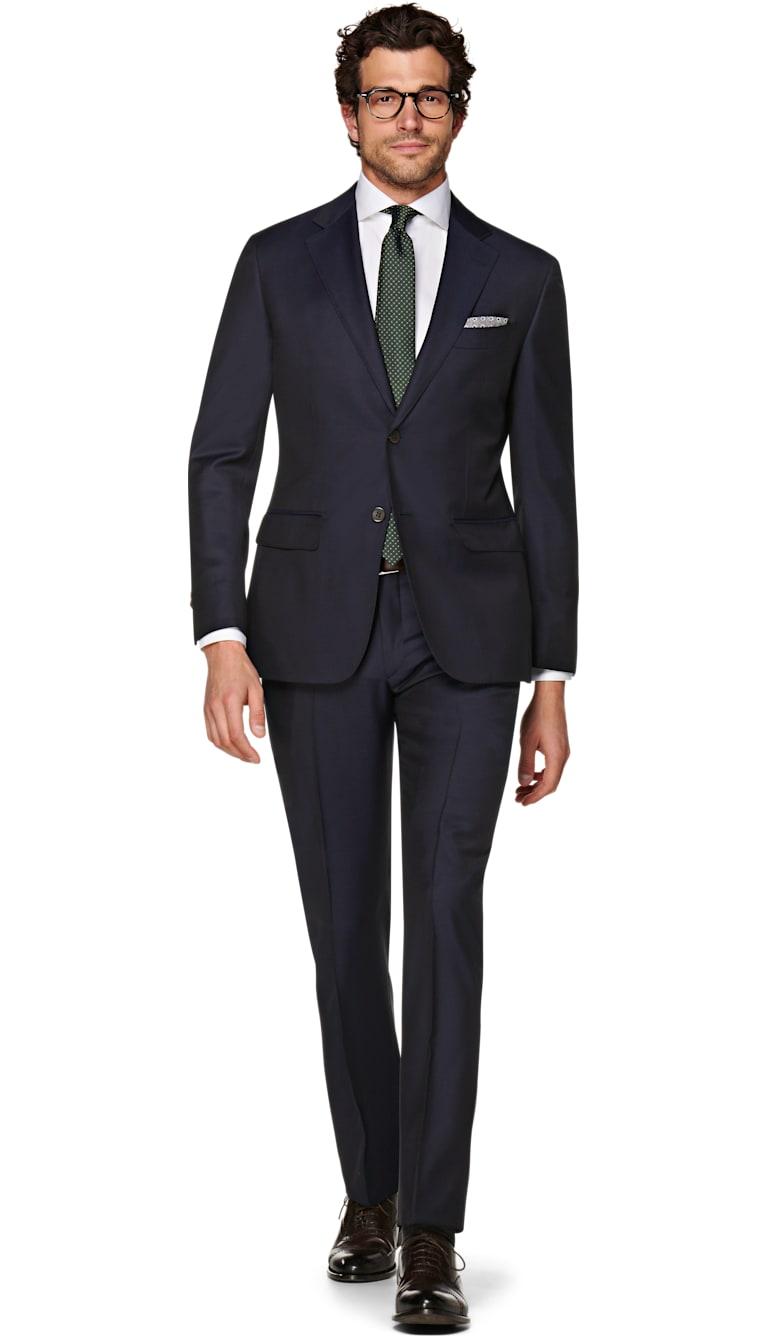 Suit Navy Plain Napoli P5229mi