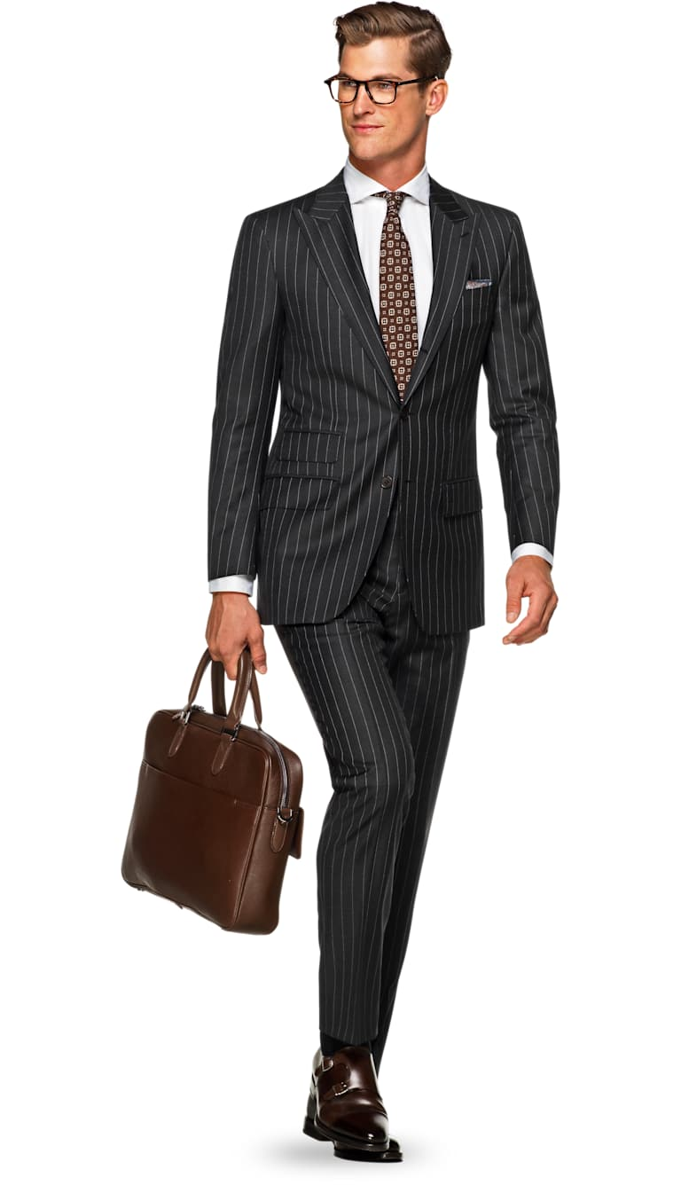 Washington Grey Stripe by Suitsupply