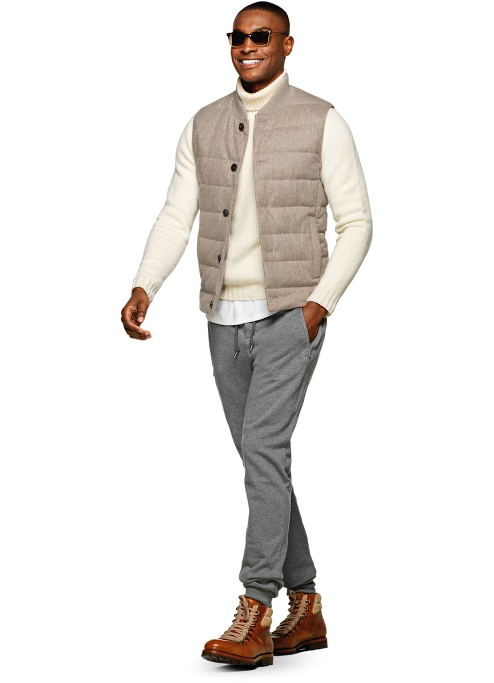 Suit Supply Padded Vest