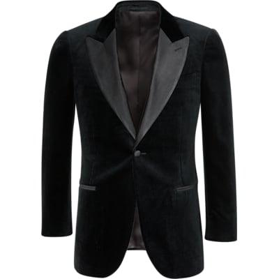 Jacket_Black_Plain_Lazio_C1058I