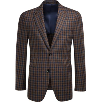 Jacket_Brown_Check_Havana_C1060I