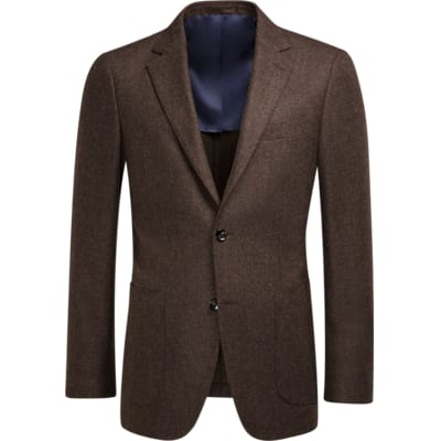 Jacket_Brown_Plain_Havana_C1075I