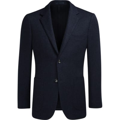 Jacket_Navy_Plain_Havana_C1077I