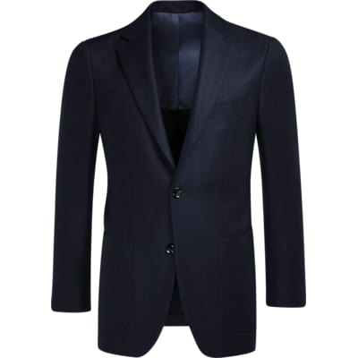 Jacket_Navy_Plain_Havana_C1081I