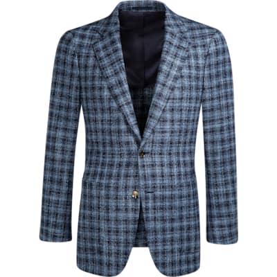 Jacket_Blue_Check_Havana_C1083I