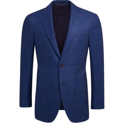 Jacket_Blue_Plain_Havana_C1201I