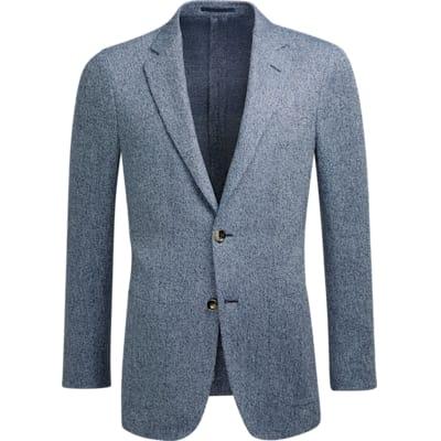 Jacket_Blue_Plain_Havana_C1212I
