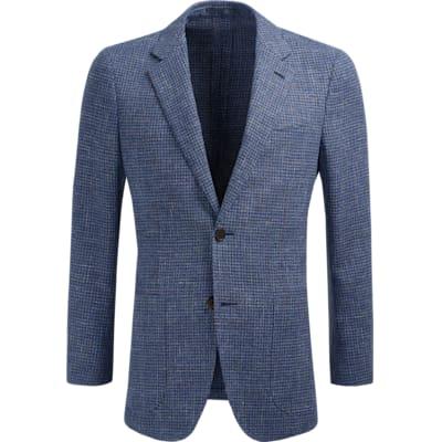 Jacket_Blue_Check_Havana_C1221I