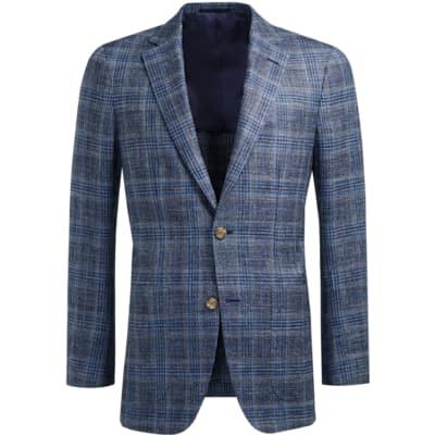 Jacket_Blue_Check_Havana_C1229I