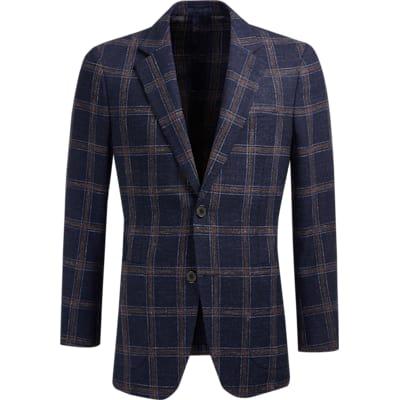 Jacket_Blue_Check_Havana_C1233I