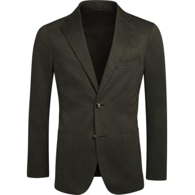 Jacket_Green_Plain_Havana_C1236I