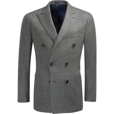 Jacket_Grey_Plain_Havana_C1266