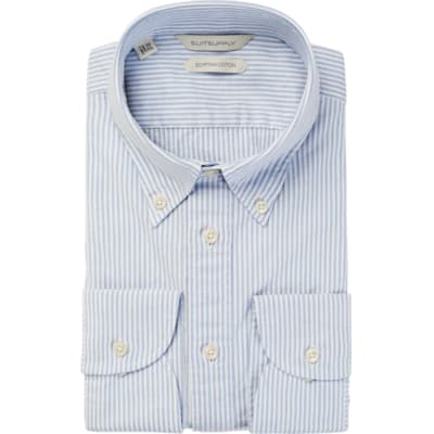 Light_Blue_Stripe_Shirt_Single_Cuff_H5603U
