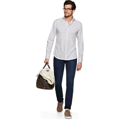Light_Grey_Stripe_Shirt_Single_Cuff_H5803U