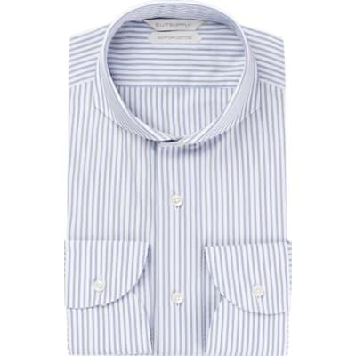 Navy_Stripe_Shirt_Single_Cuff_H5863U