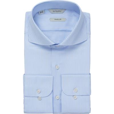 Blue_Stripe_Traveller_Shirt_Single_Cuff_H9008U