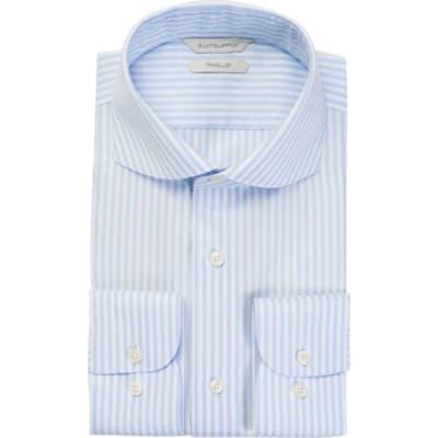 Light_Blue_Stripe_Traveller_Shirt_Single_Cuff_H9026U