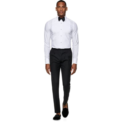 White_Plain_Tuxedo_Shirt_Double_Cuff_H9095U