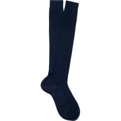 Blue_Knee_high_Socks_O278