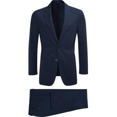 Suit_Blue_Check_Havana_P5111I