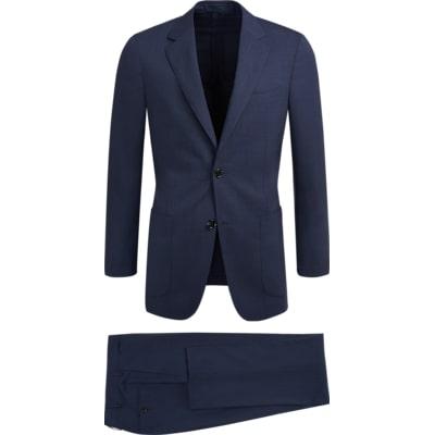 Suit_Navy_Check_Havana_P5410I