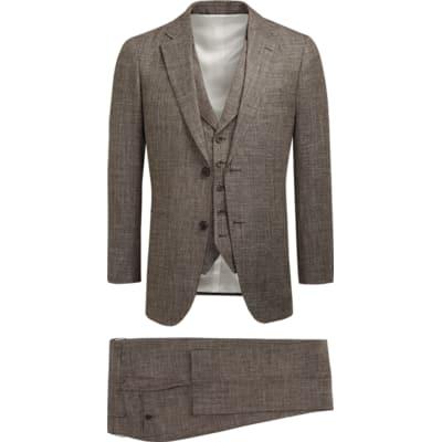 Suit_Brown_Plain_Havana_P5430I