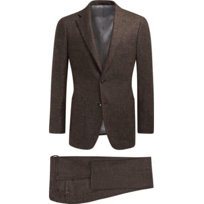 Suit_Brown_Plain_Havana_P5528