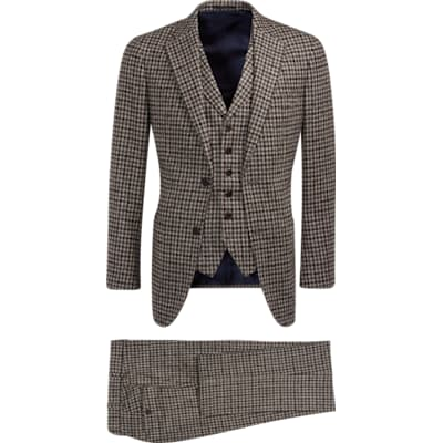 Suit_Brown_Check_Havana_P5540I