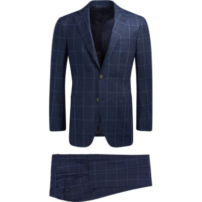 Suit_Blue_Check_Havana_P5544I