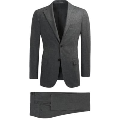 Suit_Grey_Plain_Havana_P5553I