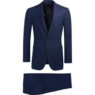 Suit_Blue_Plain_Havana_P5566I
