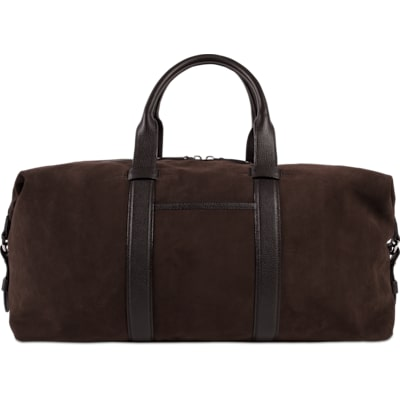 Dark Brown Holdall