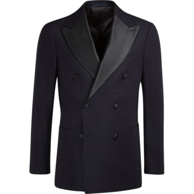 Jacket_Navy_Plain_Havana_Smoking_C1055I