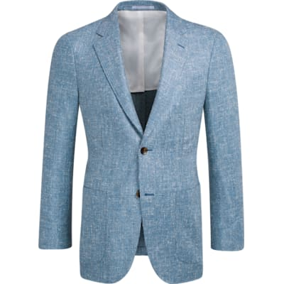 Jacket_Blue_Plain_Havana_C1203I