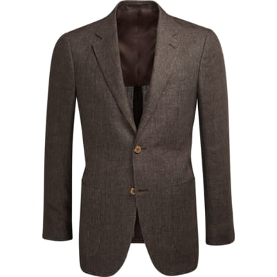 Jacket_Brown_Plain_Havana_C1213I