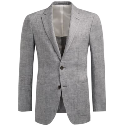 Jacket_Grey_Plain_Havana_C1216I
