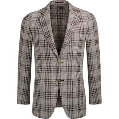 Jacket_Brown_Check_Havana_C1219I