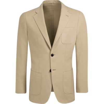 Jacket_Light_Brown_Plain_Jort_C1242I
