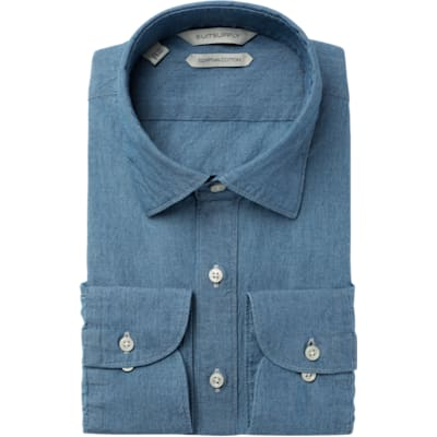 Light_Blue_Plain_Shirt_Single_Cuff_H5602U