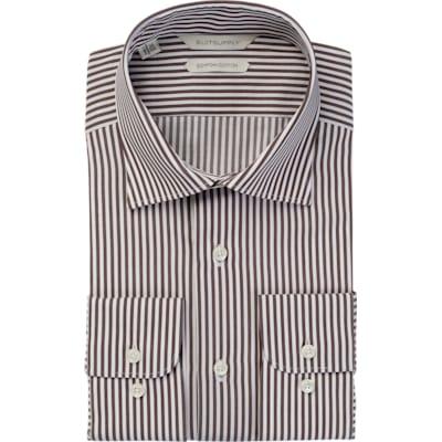 Brown_Stripe_Shirt_Single_Cuff_H5613U