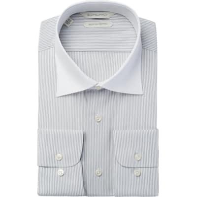 Grey_Stripe_Shirt_Single_Cuff_H5623U