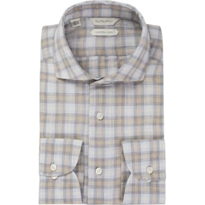 Light_Grey_Check_Shirt_Rounded_HB_Cuff_H5722U
