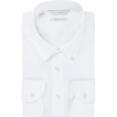 White_Plain_Shirt_Polo_Rounded_HB_Cuff_H5734U