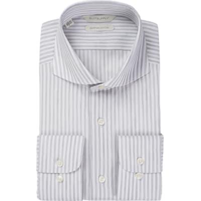 Grey_Stripe_Shirt_Single_Cuff_H5743U