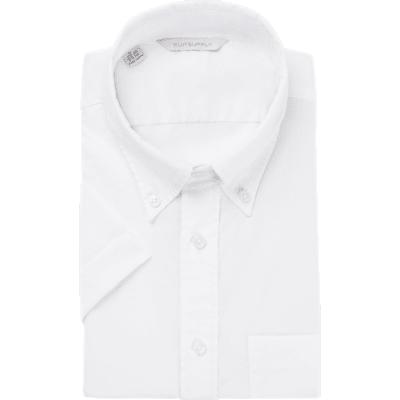White_Plain_Short_Sleeve_Shirt_Short_Sleeve_H5748U